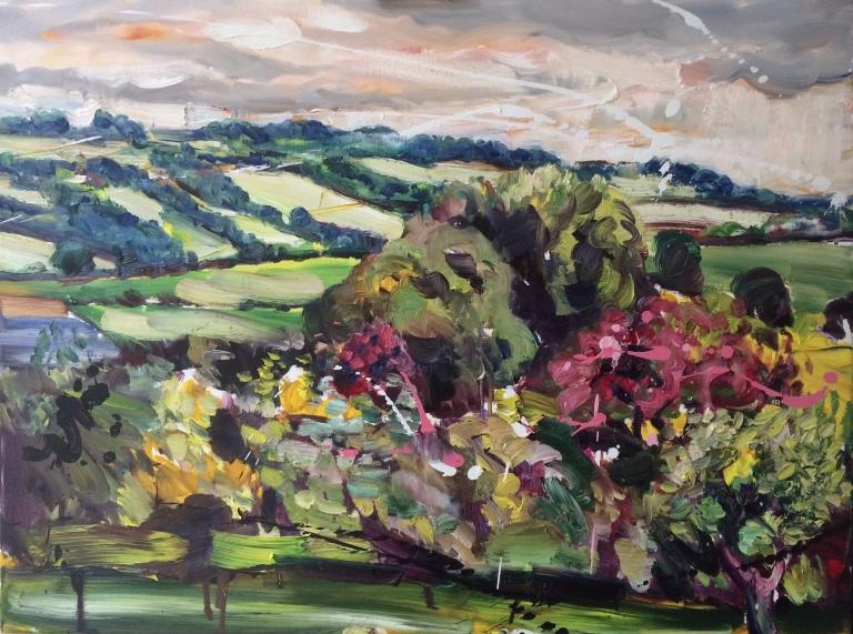 Moss Valley from 36 Main Road, Ridgeway