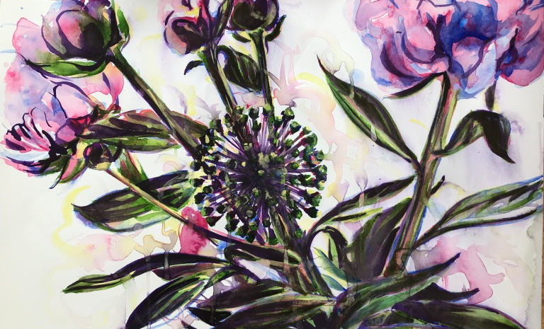 peonies and allium2