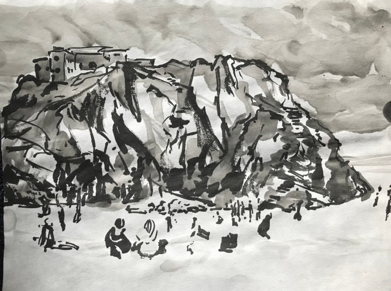 St Catherine's Rock, Tenby